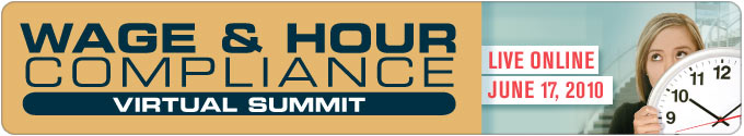 Wage and Hour Virtual Summit